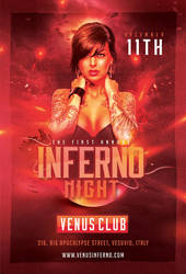 Inferno Night Flyer by n2n44