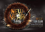 New Year Party Flyer by n2n44