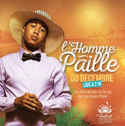 Flyer Homme Paille Tanbou Lezans by n2n44