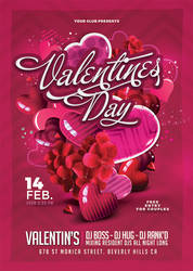 St Valentine Day Flyer by n2n44
