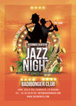 Tropical Jazz Night Flyer by n2n44