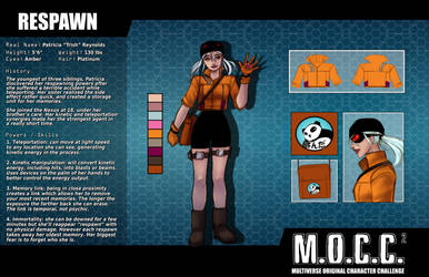 Respawn Character Sheet by Zairyo