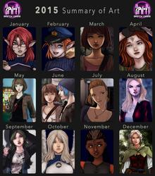 2015 Art Summary by Zairyo