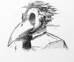 Plague Doctor Ink by TofiAnime