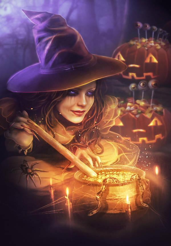 Sweet Halloween by Blavatskaya