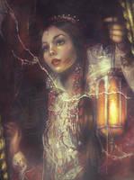 Mirror Queen by Blavatskaya