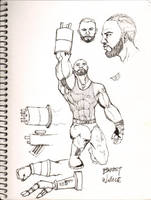 Barret Wallace by Dopplegager