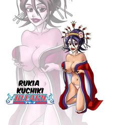 Bimbo Rukia Kuchiki by Dopplegager
