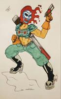 TNT (art trade) by DoodToon
