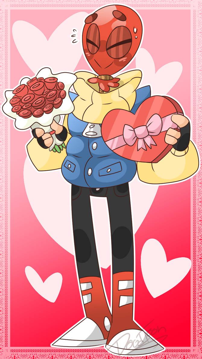 Valentine balloon by DoodToon