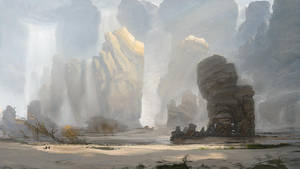 Waterfalls by Gilgamezh001