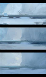 Variations Snow Ice by Gilgamezh001