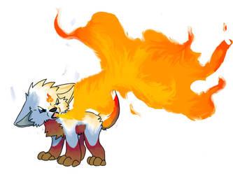 Small but Powerful No BG by Silverwind-fox-wolf