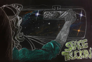 Space Truckin' by Minda-Mouse