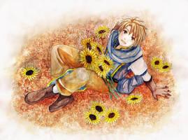 Sunflower by 7thHiddenSecret