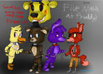 Five Nights at Freddy's by Greypencilart33312