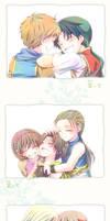 Please laugh_Genso Suikoden by Natsu-Matsuri