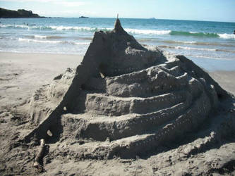 Minas Tirith Made Of Sand by Relphien