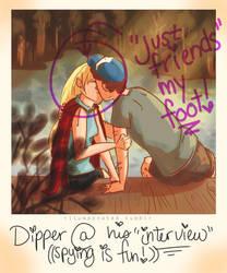 Dipper/Pacifica Polaroid by LittleMsArtsy