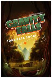 Gravity Falls Poster by LittleMsArtsy