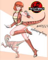 Velociraptress_The_Lost_World by crazy-shark