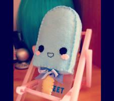 Kawaii Ice-cream plush by Angel312