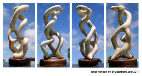 tango dancers 2011 by SculptorBoris