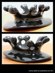 viscous splash by SculptorBoris