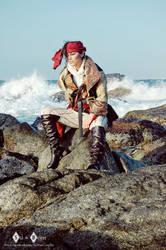 Kidd on the rocks by Domjiji