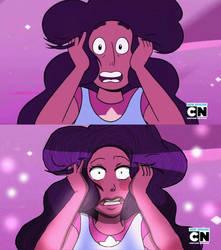 Steven and Connie Fusion Screenshot Comparsion by Lofi-Senpai