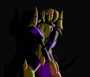 Makuta, Master of the Shadows by BobBricks