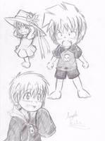 Angelo Kids Sketch by Neloku