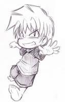 Takumi Running by Neloku