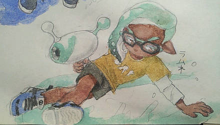 squid kid by Labyriinthus