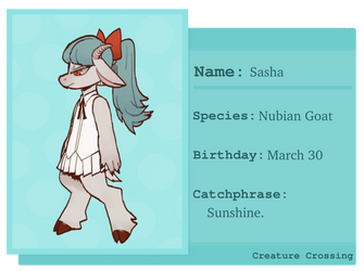 [Creature Crossing] Sasha by Labyriinthus