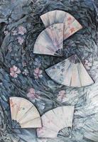 fans and winter wind by ireneya