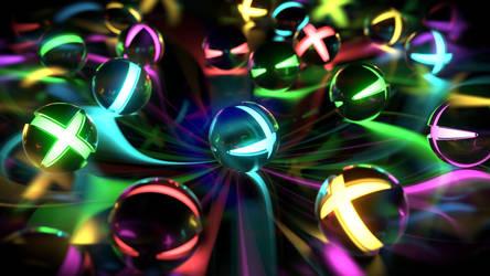 Glow Balls wallpaper by AbdouBouam