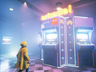 Insert coin v2 (Real-time render) by AbdouBouam