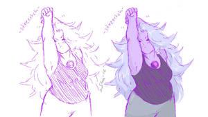 Stretchin by glitchink