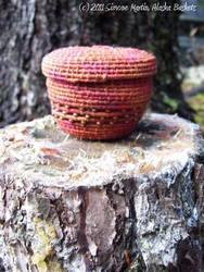 Alaska Autumn Passion Basket by alaskabaskets