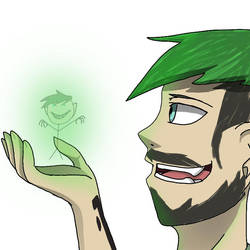 You Could Draw A Stick Figure.. (SepticArt) by ShandellaWayne