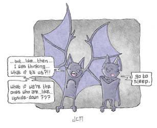 Drawlloween Bat - Alternative by chewedmelon