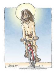 ...On A Bike by chewedmelon
