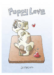 Puppy Love by chewedmelon
