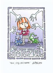 Maze OGN Concept Sketch by chewedmelon