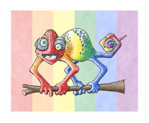 Karma Chameleon by chewedmelon