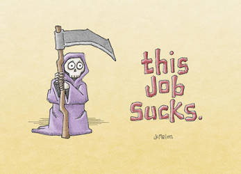 This Job Sucks by chewedmelon