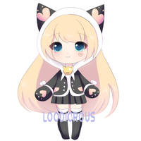 50 point neko adopt :closed: by LoodicrousAdopts