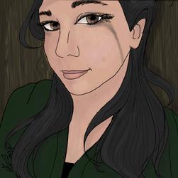 Self Portrait by laughingcrowart