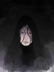 Dark Goddess by laughingcrowart
